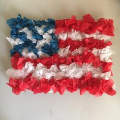patriotic tissue crafts