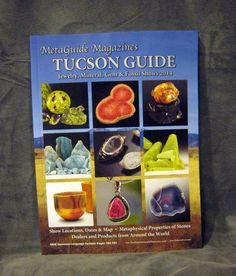 Tucson Gem & Mineral Show 2014 Guide Book