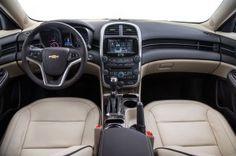 2015 Chevy Malibu interior