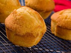 Old-time Corn Bread Muffins | mrfood.com