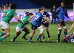 Audrey Abadie. #RugbiFemeni #rbs6nations  #FranceFéminines França [18-6] Irlanda. #womens6nations 13-2-16. Estadi Aimé Giral (Perpinyà. Estadi de l'USAP)