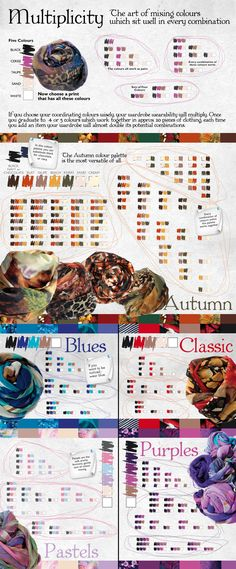 The art of mixing colours which sit well in every combination - Liz Davenport