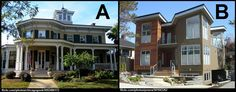 It's You Choose Tuesday! Which house do you prefer? A) a classic 19th Century style, or B) a modern contemporary style?