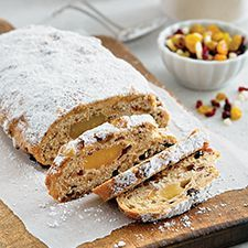 Christmas Stollen - A traditional German fruitcake for the holidays Z