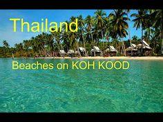 Тайланд красивые и бесконечные пляжи на острове КО КУД   Thailand beaut...
