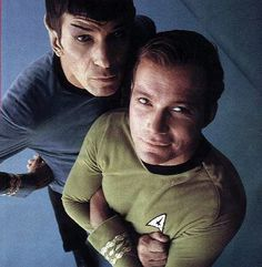 star trek kirk and spock pic - Bing Images