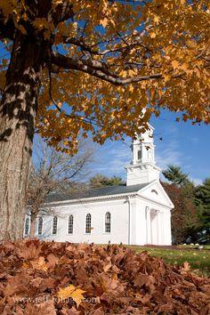 Massachusetts in the fall - New England fall foliage