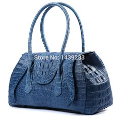2ff0736870660b 100% genuine crocodile skin leather women handbag, 2016 fashion alligator  skin women cross body