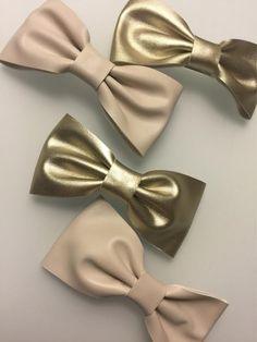 Gold & Tan Bows