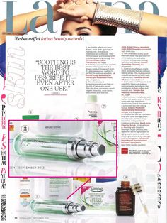 #ANEW Clinical Absolute Even Multi-Tone Skin Corrector is featured in the September issue of @Latina Magazine