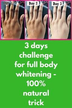 3 days challenge for full body whitening - 100% natural trick Today I am telling you the efficient way to whiten your whole body. By doing this process for continuous 3-4 times you can get your skin shade 1-2 times lighter. Ingredients, You will need – One tomato 2 tablespoon of licorice powder (mulethi powder) 1 tablespoon of lemon juice 2 tablespoon of rose water Method- …