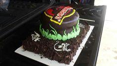 My second Jurassic Park cake