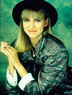 I loved my Debbie Gibson hat.  (I did not pull it off NEAR as well as she did.)