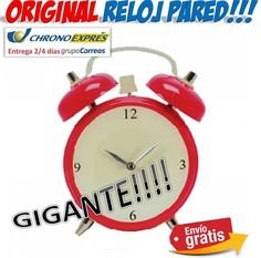 #regalos #gadgets #ofertas #descuentos #yougamebay #reloj #original #gigante Reloj de pared gigante con forma de despertador retro!!! http://www.yougamebay.com