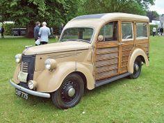 168 Ford Prefect Brakenvan  (1938)