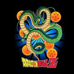 Camiseta Dragon Ball Z. Dragón Sagrado