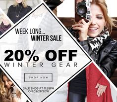 **This week only!**  Stock up now on our cozy winter gear before they're gone for good! SHOP: http://bit.ly/1HkPUz4 #justjewelry #jewelry #sale #thisweekonly #winterfashion #limitedtime
