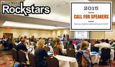 Want to Speak at the Social Media Rockstar Event 2015?  Rockstars!  We're looking for you… We're on a quest for amazing speakers for the next Social Media Rockstar Event in September of 2015.