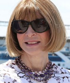 Anna Wintour did her part for the cause and took daughter Bee Shaffer up on the offer on the ALS Ice Bucket Challenge.