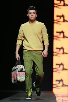 Vietnam Fashion Week FW14 - Ready to wear. Designer: Van Khoa - May Viet Thang. Photo: Thanh Dat