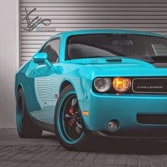 I don't think that color is an official one of Dodge but forget about it that Chalenger is beautiful