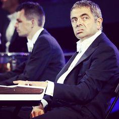 Mr. Bean fazendo sua participação. TERRA, A OLÍMPIADA COMO VC NUNCA VIU #TerraLondres2012  - @terrabrasil- #webstagram #london2012 #olympics #mrbean