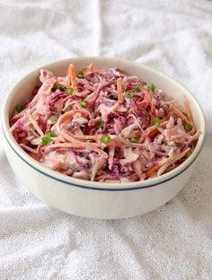 Salada de repolho e molho de Iogurte Grego | A casa encantada
