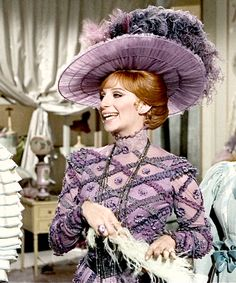 Hello, Dolly! A great comedienne and singer.  So beautiful too!