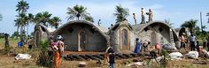 Building earthships for communities