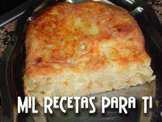 Mil Recetas para Ti: Tortilla de cebollas