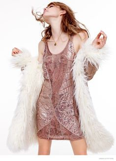 sequin party dress from urban outfitters