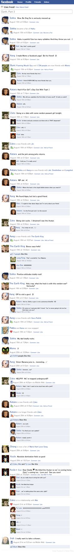Avatar Facebook: Earth Pt 3
