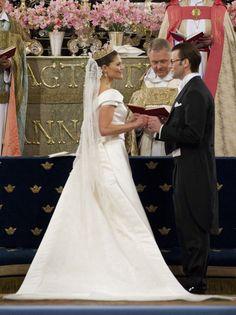 Princess Victoria Photos - Princess Victoria and Daniel Westling Get Married in Sweden - Zimbio