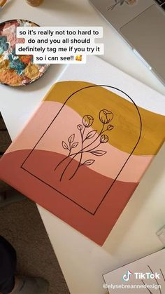Easy Canvas Art, Simple Canvas Paintings, Small Canvas Art, Mini Canvas Art, Easy Acrylic Paintings, Easy Abstract Art, Easy Canvas Painting, Small Art, Diy Canvas