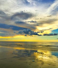 Evening at the beach in Borneo by UniquePhotoArts