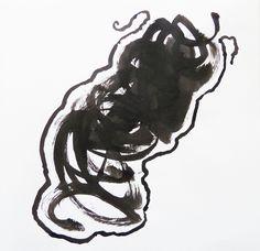 Ramiro Pareja Herrera. 2016 Tinta a pincel