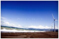 Windmills of Bangui, Ilocos Norte Ilocos, Windmills, Philippines, Beach, Water, Outdoor, Norte, Gripe Water, Outdoors
