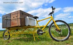 Take your cargo bike to the beach or camping.