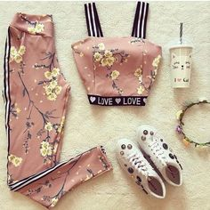 Trendy Ideas For Fitness Fashion Cute Fitnees fashion – Top healthy fitness Teen Fashion Outfits, Sporty Outfits, Cute Casual Outfits, Girly Outfits, Cute Fashion, Stylish Outfits, Stylish Dresses, Look Fashion, Fashion Clothes
