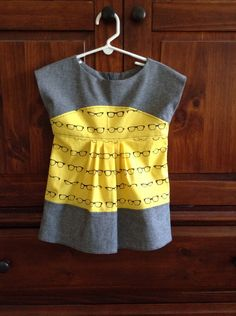 LAST DAY OF SALE: 50% OFF Ready To Ship Items now through July 6th with Coupon Code 'HALFOFF'!!! Yellow Spectacles Maggie Mae Tunic by Jaimesews on Etsy, $40.00