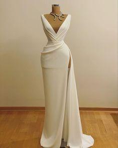 Glam Dresses, Event Dresses, Pretty Dresses, Bridal Dresses, Beautiful Dresses, Formal Dresses, Elegant Evening Dresses, Vestidos Fashion, Vestidos Sexy