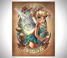 Disney-Princesses-As-Tattooed-Pinup-Girl-Tattoos-5