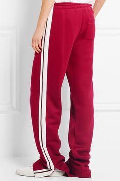 Chloé | Pantalon de survêtement large en jersey | NET-A-PORTER.COM Chloé Pantalon de survêtement en jersey à rayures €990