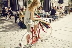 Women's Clothing for the Urban Cyclists - Shop Cruiser Republic, Your Online Bike Shop for Women's Casual Spin Tops, Bottoms & Jeans - Fall Winter Online Bike Shop, Female Cyclist, Bicycle Girl, Bike Style, Cycling Outfit, Clothes For Women, Casual, Instagram, Cyclists