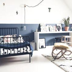 blauw zwart