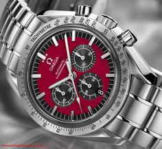 Omega Speedmaster Schumacher special edition
