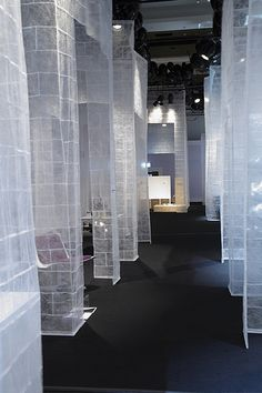 exhibition, pinned by Ton van der Veer