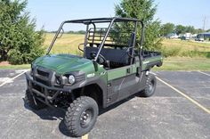 New 2016 Kawasaki Mule Pro-FX EPS ATVs For Sale in Wisconsin. 2016 Kawasaki Mule Pro-FX EPS, 2016 Kawasaki Mule PRO-FX EPS The Mule Pro-FX Eps Side X Side Has Electric Power Steering That Self Adjusts To Deliver The Necessary Steering Assistance Based On Speed, While Also Damping Kickback To The Steering Wheel. Features May Include: Cargo Bed can fit a standard size 40x48 pallet with up to 1,000 lbs. of cargo capacity 812cc three-cylinder engine with massive torque, impressive pulling power…