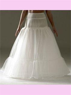 Two Hoop Wedding Petticoat