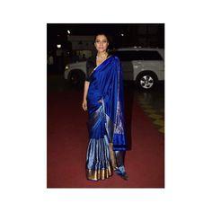 "1,483 Likes, 12 Comments - RAW MANGO | SANJAY GARG (@raw_mango) on Instagram: ""Actress Kajol Devgan in Dhara mashru silk sari. Styling: @mohitrai #sanjaygarg #rawmango #mashru…"""
